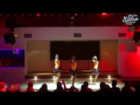 Fuerza Azteca Ladies Show | 2.Chania Salsa Festival