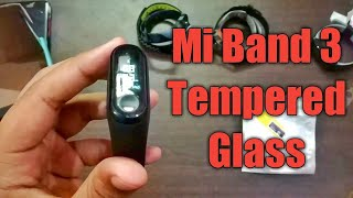 Mi Band 3 Tempered Glass | Screen Protector for Mi Band 3 | Mi Band 3 | Mi Band Hidden Features