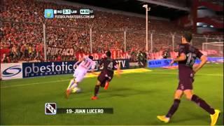 Gol de Lucero. Independiente 3 - Lanús 1. Fecha 16. Torneo Primera División 2014. FPT