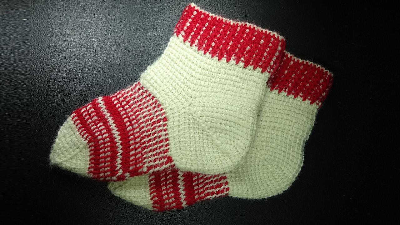 Вязание носков крючком видео-уроки 41