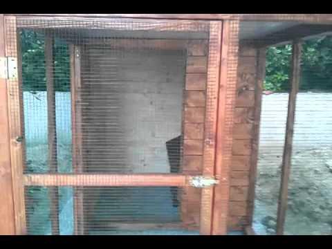 recinto per cani in legno youtube