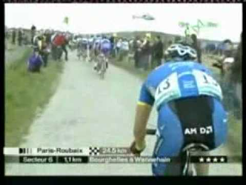 Vladimir Gusev Paris Roubaix 2006 highlights