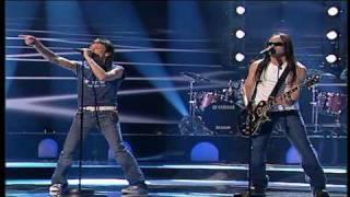 Eurovision 2004 Semi Final 04 Latvia *Fomins & Kleins* *Dziesma par laimi* 16:9 HQ