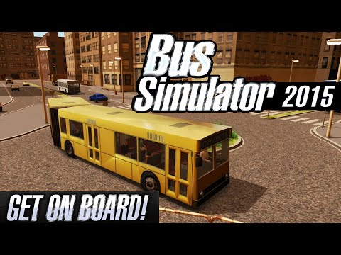 BUS SIMULATOR 2015 Review   Bus Driver Simulation - Get on Board!   iOS Gameplay (Android. iPhone)