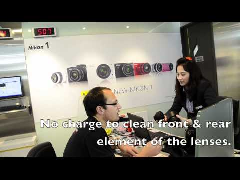 Sensor cleaning, gossip & repairs - Nikon Service Centre - Hong Kong