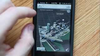 Google Earth 3D vs iOS6 3D Maps
