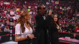 WWE Raw Highlights- Snoop Dogg Guest Hosts