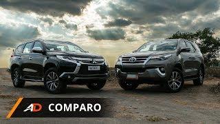2018 Mitsubishi Montero Sport GT 4x4 VS 2018 Toyota Fortuner V 4x4 - Autodeal Comparo
