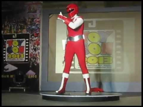 MASKMAN: RED MASK Live Transformation @ToyCon 2013