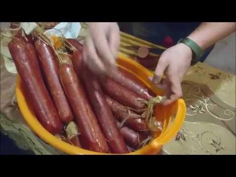 Колбаса горячего копчения в домашних условиях рецепт с фото 56