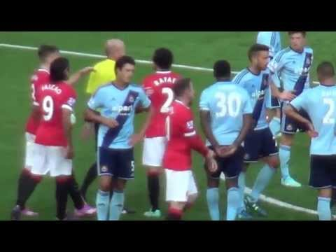 Wayne Rooney was it a Red Card? Manchester United 2 - West Ham United 1 27.09.14