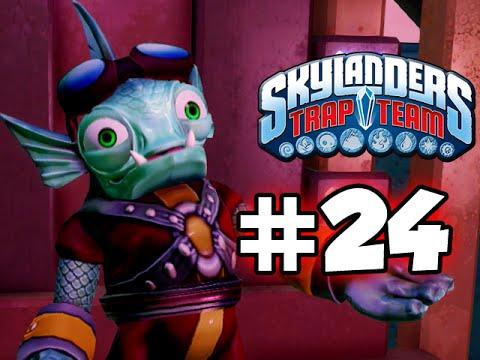 SKYLANDERS TRAP TEAM GAMEPLAY WALKTHROUGH - PART 24 -  SCARED!