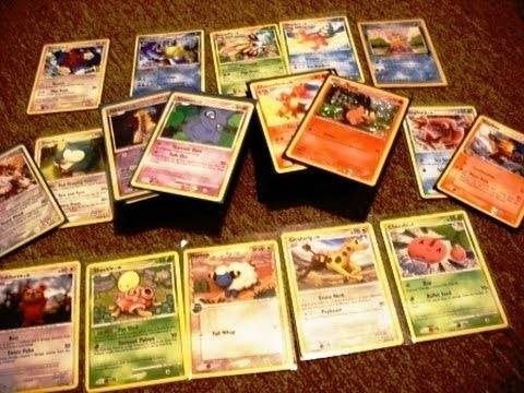 Playing The Pokemon Card Game