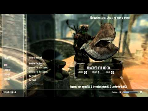 Fur Hoods : Skyrim Mod Reviews