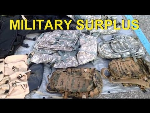 Shopping for Military Surplus Gear