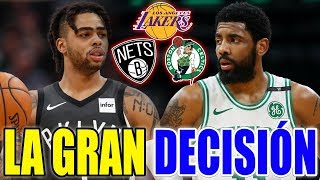 KYRIE IRVING O D'ANGELO RUSSELL / LOS ANGELES LAKERS DECIDEN