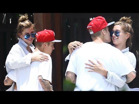 Hailey Baldwin Responds to New Justin Bieber Photos