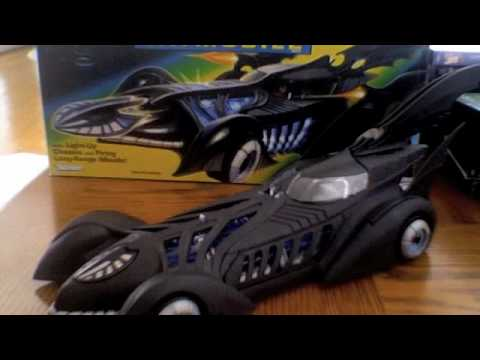 Batman Forever Electronic Batmobile Review
