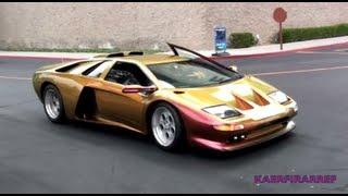 REALLY RARE DeTomaso Guara and Purple Lamborghini Miura