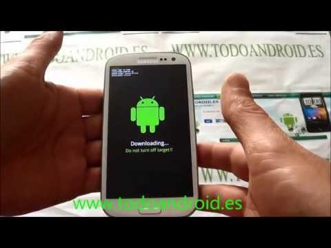 Poner en modo descarga el Samsung Galaxy S3