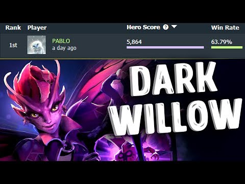 ЗАДРОТ DARK WILLOW DOTA 2