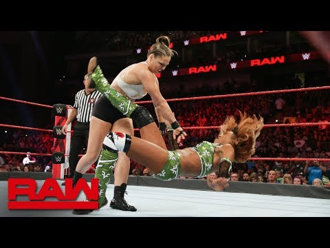 Ronda Rousey vs. Alicia Fox: Raw, Aug. 6, 2018 thumbnail