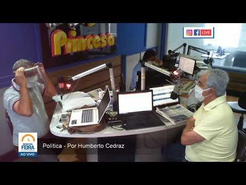 Política - Por: Humberto Cedraz - Pesquisa de intenção de voto no pleito de Feira - 10 de setembro