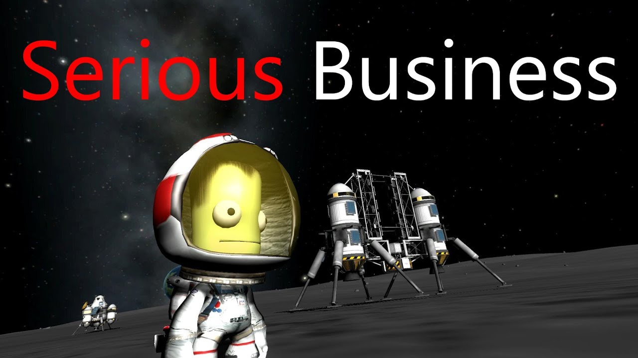 kerbal space program serious business -#main