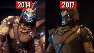 Comparison - Destiny (2014) vs Destiny 2 (2017) GAMEPLAY TRAILERS