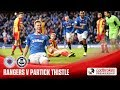 Rangers Partick Thistle goals and highlights
