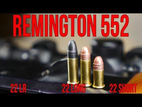 Remington 552 Speedmaster   .22LR. .22 Long. and .22 Short All In One Gun