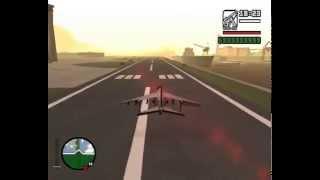Jak nauczyć się latać hydrą w GTA SA
