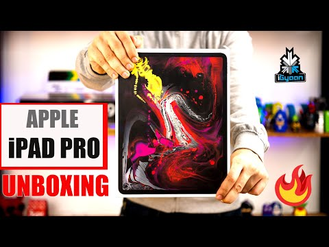 Apple iPad Pro 12.9 2018 India Unboxing First Look