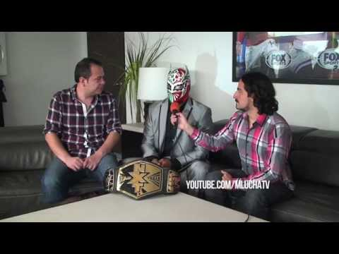 Sin Cara, En Entrevista Exclusiva Para +luchatv video
