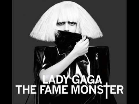 Lady Gaga - So Happy I Could Die - OFFICIAL The Fame Monster Version + Lyrics [HQ] Video