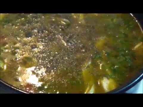 ВКУСНЫЙ И ПОЛЕЗНЫЙ - Суп со стручковой фасолью