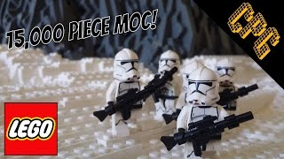 Biggest Lego Star Wars MOC Base on Mygeeto!! (Clone Wars Era)