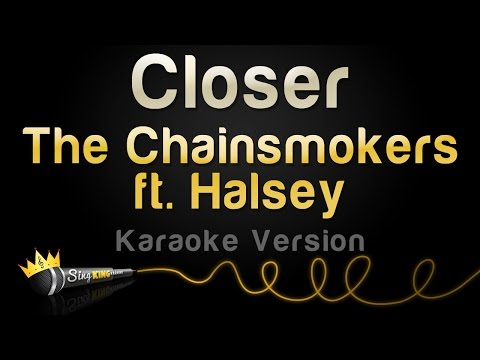 The Chainsmokers ft. Halsey - Closer (Karaoke Version)