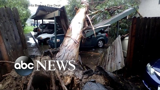 Deadliest storm in years slams Southern California
