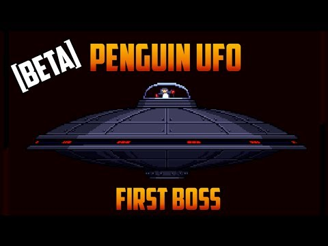 Starbound - Penguin UFO boss kill [Beta]