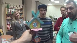 В гостях у Смешариков. Игорь Рыбаков и Дмитрий Казаков внезапно впали в детство.