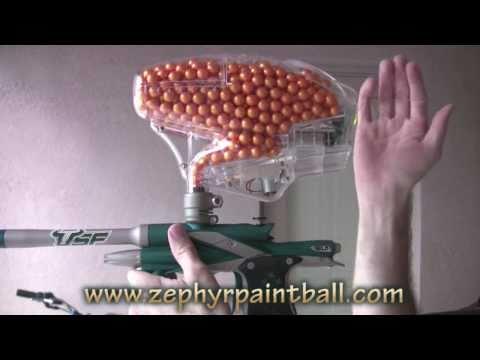 .50 Caliber Modified Pinokio Paintball Hopper (700+ rounds!)