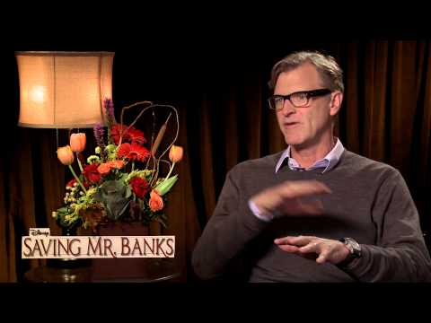SAVING MR. BANKS - John Lee Hancock Interview
