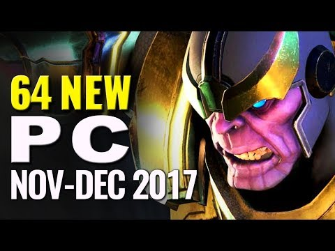 PC Playscore Scoop November and December 2017 |  Best New PC games reviewed