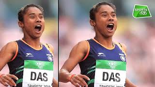 15 दिन मे चौथी बार Hima Das ने जीता गोल्ड