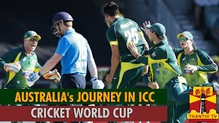 Australia's Journey in World Cup Matches