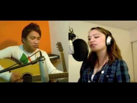 Fixing a broken heart (Acoustic Cover duet) - Diane de Mesa...