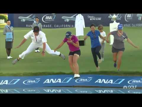 Lydia Ko wins ANA Inspiration, the youngest golfer to earn back to back majors