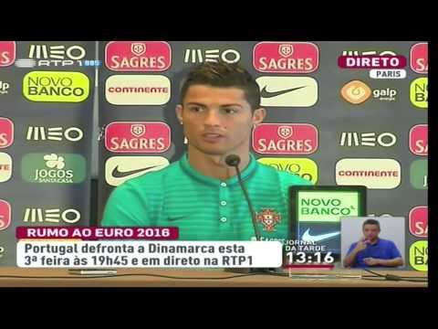 Cristiano Ronaldo Manda Boca a Jornalista da CMTV [ENGLISH]