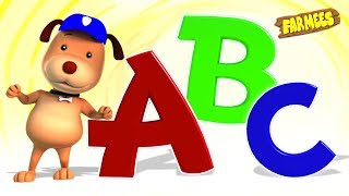 Abc Song | Popular Nursery Rhymes & Learning Videos For Children | Kids Cartoons - Farmees